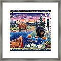Sunrise At Bear Lake Framed Print