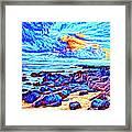 Sunrise Near Poipu Beach Framed Print