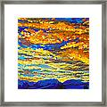 Sunset In Colorado Framed Print