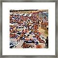 Super Paradise Beach In Mykonos Island Framed Print