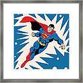 Superman 8 Framed Print