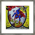 Superman Framed Print by Mitch Shindelbower