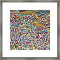 Supersonic Dynamics Framed Print