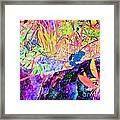 Surreal Abstract Of Flora And Fauna Framed Print