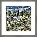 surreal Hope Valley Framed Print