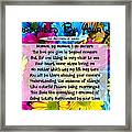 Surrounded By Your Love Framed Print