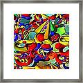 Sweets By Rafi Talby    Framed Print