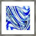 Swirling Abstract Framed Print