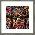 Swirly Bird Framed Print