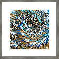 Swirly Mirror Framed Print