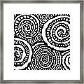 Swirly Twirly 2 Framed Print