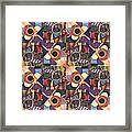 T J O D Tile Variations 10 Framed Print