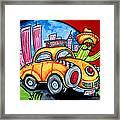 Taco Taxi Framed Print