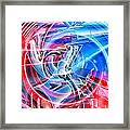 Tail Light Abstract Framed Print