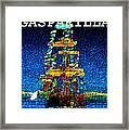 Tall Ship Jose Gasparilla Framed Print
