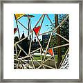 Tampa Seen Through Art Framed Print