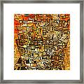 Tangerine Dream Framed Print by Jack Zulli