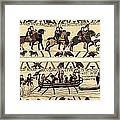 Tapestry Of Bayeux. The Complete Framed Print
