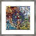 Tarot Of Dreams Framed Print