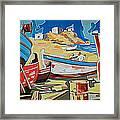 Tarsanas-boatyard Framed Print