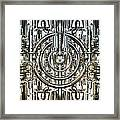 Technically Background Framed Print by Diuno Ashlee