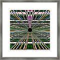 Technological Black Hole Framed Print
