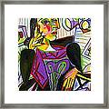 Technology And Picasso Framed Print
