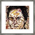 Ted Bundy Electric Framed Print