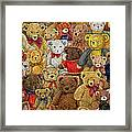 Ted Spread Framed Print by Ditz