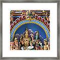 Temple Deity Statues India Framed Print