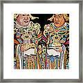 Temple Doors 01 Framed Print