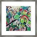 Temptation Of Eve Framed Print by Andrei Attila Mezei