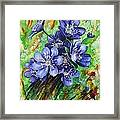 Tenderness Of Spring Framed Print