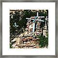 Terlingua Cross Framed Print