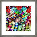 Terrace Lights Framed Print by Bobby Hammerstone