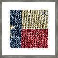 Texas Flag Framed Print