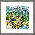 Texas Usa Framed Print