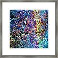 Texture And Color Abstract Framed Print