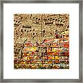 Texture And Timbre Framed Print