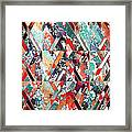 Textured Structural Abstract Framed Print