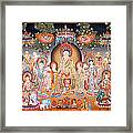 Buddha Art Thangka Framed Print