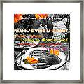 Thanksgiving Is Not... Framed Print