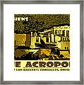 The Acropolis Athens Framed Print
