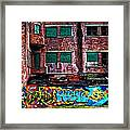 The Art Of The Streets Framed Print by Karol Livote