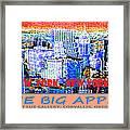 The Big Apple Framed Print