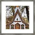 The Birdhouse Kingdom - Steller's Jay Framed Print