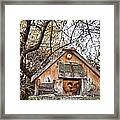 The Birdhouse Kingdom - The Purple Martin Framed Print