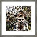 The Birdhouse Kingdom - The Red Crossbill Framed Print
