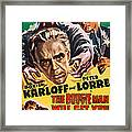 The Boogie Man Will Get You, Us Poster Framed Print