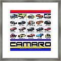 The Camaro Poster Framed Print